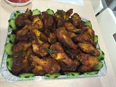 Tumeric chicken wings Yums!