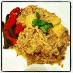 "Teriyaki Pineapple Chicken and ""Rice"" Bowl (Cauliflower Rice) Quick Prep at Mealfit.co"