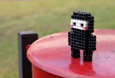 3D Hama Bead Ninja by lwordish2010, via Flickr