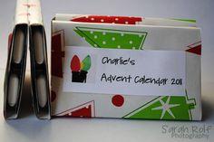Easy Gum Advent Calendar