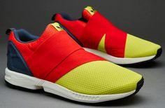 34e6ad50e438f Adidas Originals ZX FLUX Slip On Yellow Orange B34456  199.00 Adidas  Originals Zx Flux