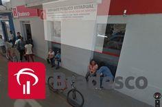 Tentativa de roubo em agência do Bradesco em Campos Gerais