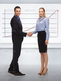 man and woman shaking their hands ... agreement, alright, attractive, beautiful, business, businessman, businesspeople, businesswoman, chart, consensus, contact, corporate, cute, deal, education, entrepreneur, female, formal, friendly, girl, giving, graph, growth, hand, handshake, handsome, happy, lady, looking, lovely, male, man, nice, office, partners, person, positive, pretty, professionals, ready, shake, smiling, staff, student, success, successful, suit, up, woman, yes