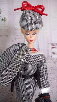 Vintage-Barbie-Reproduction-Silkstone-FR-Fashion-VR-Handmade-Dress-OOAK-Mary