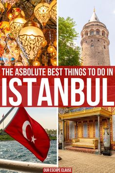 Looking for all the best things to do in Istanbul? We've covered them all here: get great views, eat Europe Travel Tips, Asia Travel, Travel City, Amazing Destinations, Travel Destinations, Turkey Destinations, Stuff To Do, Things To Do, Istanbul Travel