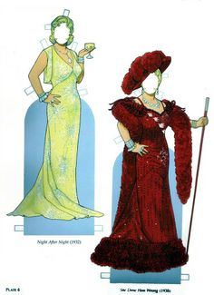 Mae West* 1500 free paper dolls at Arielle Gabriel's The International Paper Doll Society free paper dolls for my Pinterest friends..*