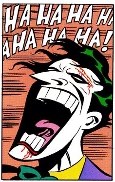 The Joker from Mad Love by Bruce Timm and Paul Dini