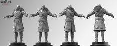 Witcher 3 Skellige Armor, Marcin Klicki on ArtStation at https://www.artstation.com/artwork/witcher-3-skellige-armor