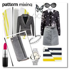 """""""A BARTENDER MIXER: the wader chic{k}"""" by g-vah-styles on Polyvore featuring Belk Silverworks, Chanel, Journee Collection, Lemlem, Andrew Hamilton Crawford, RED Valentino, Lacoste, MAC Cosmetics, Givenchy and MEGUMI•O"""