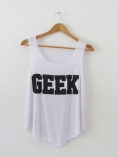 Geek Vest/Top, £6.99