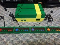 Nintendo custom painted (TMNT)
