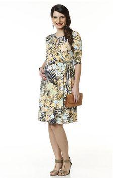 Vestido Arco Iris em Lookbook de Moda Gestante da Maria Barriga