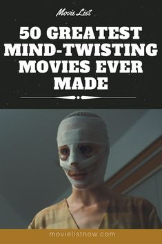 50 Greatest Mind-Twisting Movies Ever Made. Will you have the courage to watch the films on this list? Featuring incredible movies, this list brings no less than 50 films ranging bugar your mind. Below are films … Movies To Watch Teenagers, Great Movies To Watch, Netflix Movies To Watch, Movie To Watch List, Tv Series To Watch, Movie List, Best Tv Series Ever, Best Horror Movies List, Horror Movies Funny