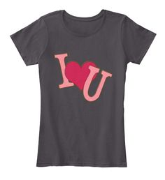 Valentine's Day T Shirts For Men , Women Heathered Charcoal  Women's T-Shirt Front