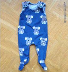 Strampler nähen nach einem kostenlosen Schnittmuster und Nähanleitung- ideal für die Erstausstattung fürs Baby - Geschenk zur Geburt