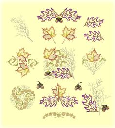 """Oneida"" from the American Beauty Collection. San Francisco Stitch Co. Machine Embroidery designs"