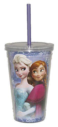 Disney Frozen Elsa Anna Olaf Sven Kristoff Tumbler Drinkware @ niftywarehouse.com #NiftyWarehouse #Frozen #FrozenMovie #Animated #Movies #Kids
