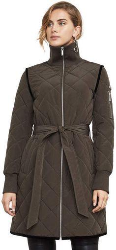 BCBGMAXAZRIA Krystal Quilted Jacket