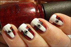 Sweet Sugar: My Christmas Manicure