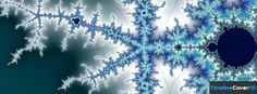 Abstract Snowflake Pattern Facebook Cover Timeline Banner For Fb Facebook Cover