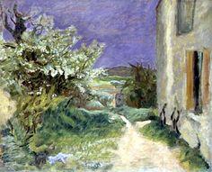 The Maison at Vernouillet by Pierre Bonnard (France)