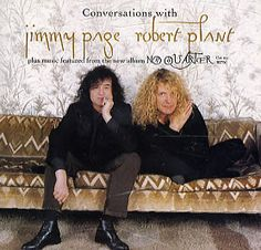 For Sale - Page & Plant Conversations With... No Quarter USA Promo  CD album (CDLP) - See this and 250,000 other rare & vintage vinyl records, singles, LPs & CDs at http://eil.com
