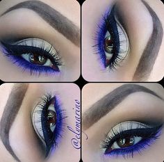 Purple and Gold Eye (Accents)