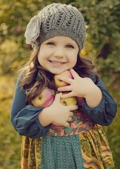 I love fall. And fall outfits. And children. And children in fall outfits. Precious Children, Beautiful Children, Beautiful Babies, Simply Beautiful, Beautiful Images, Autumn Photography, Children Photography, Apple Orchard Photography, Fashion Kids
