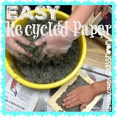 Recycled Paper in the Classroom