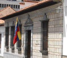 Casa Natal de Simón Bolívar. Caracas.