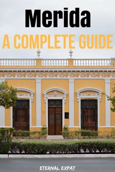 A complete guide to Merida, Mexico. If you are planning a trip to the Yucatan, you definitely don't want to skip out on Merida. Here are my tips for where to sleep, what to eat, the best bars to drink at and all the best day trips to keep you busy!