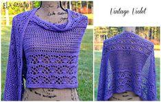 Vintage Violet by ELK Studio #crochet #patterns
