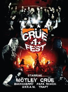 Motley Crue: Crue Fest 2008.... my son's first rock concert, just the same as mine! :)
