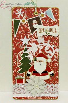 luisa papercrafts tag navideo christmas tag