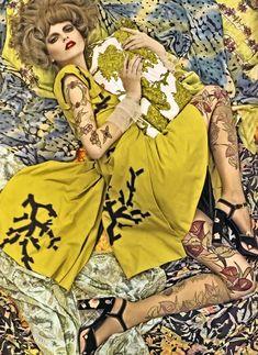 Italian Vogue prints