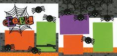 Eeeeek!! Cutouts - cute Halloween page