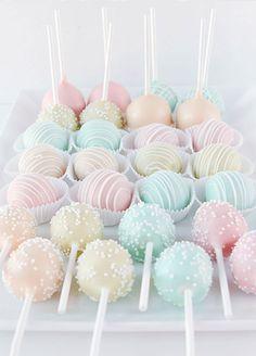 Pastel Cake pops