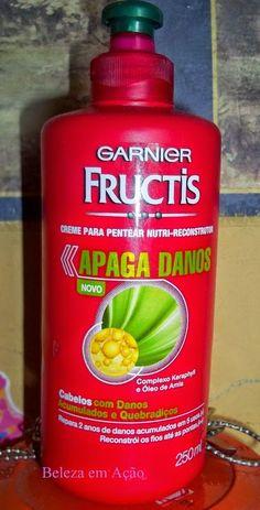 BELEZA EM AÇÃO: Apaga danos -  Garnier Fructis