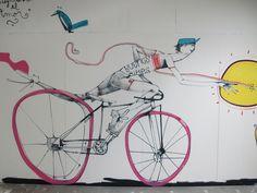 Mart, murales en bicicleta | Q