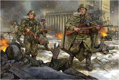 Stalingrado, diciembre de 1942. Johnny Shumate.