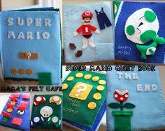 Mamas Felt Cafe: Super Mario Quiet Book