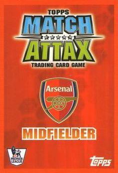 2007-08 Topps Premier League Match Attax #10 Mathieu Flamini Back