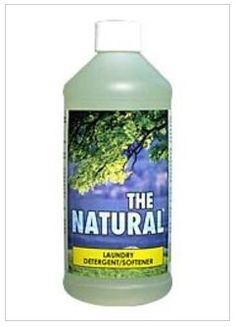 This environmentally safe laundry detergent with built-in fabric softener leaves clothes and linens smelling fresh, l