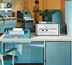 EAI 640 Digital Computing System, 1966 by colorcubic, via Flickr