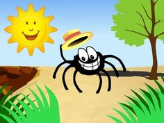 La comptine illustrée de l'araignée Gipsy