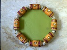 Tray Decoration For Wedding Delectable Kundan  Decoration Pinterest Inspiration Design