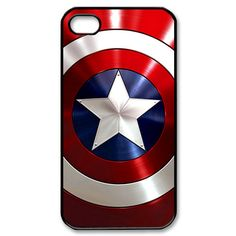 Personalized Captain america Shield Apple On iPhone 4 Case, iPhone Case, iPhone Case-plasic hard Iphone cover iphone from topqualityhandmade on Etsy. Iphone 4s Covers, Iphone 5c Cases, Iphone Hard Case, Iphone 5s, Captain America Party, Captain America Birthday, Captain America Shield, Capt America, Iphone 4 Cases