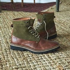 Lace up this #Saturday in @wolverineboots Tomas Plain Toe Hiker Boots. Now available at AE.com.
