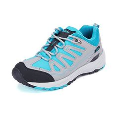 XUP Womens Suede Synthetic Trail Hiking Shoes Grey Size 65 US *** You can get additional details at the image link.