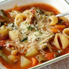 """Jamie's Minestrone I """"This was the minestrone recipe I was looking for. I was tired of the watered down versions that you get most of the time. Jaime's recipe has the heartiness to satisfy."""